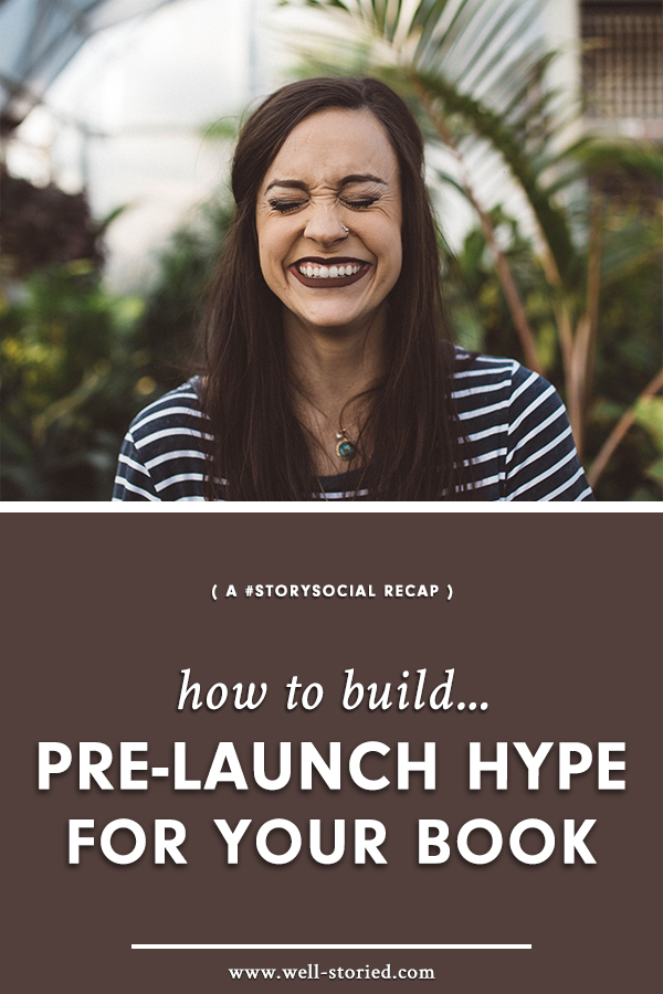 Are you planning to publishing your latest WIP? Don't wait to begin marketing it until after your book launch. Start building hype for your story today!