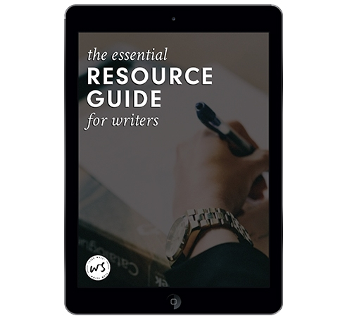 The Essential Resource Guide for Writers from Kristen Kieffer at Well-Storied.com