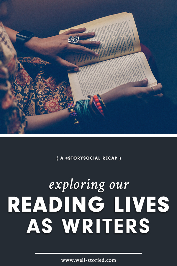 What do the reading lives of writers around the world look like? Take a peek in this week's #StorySocial chat recap!