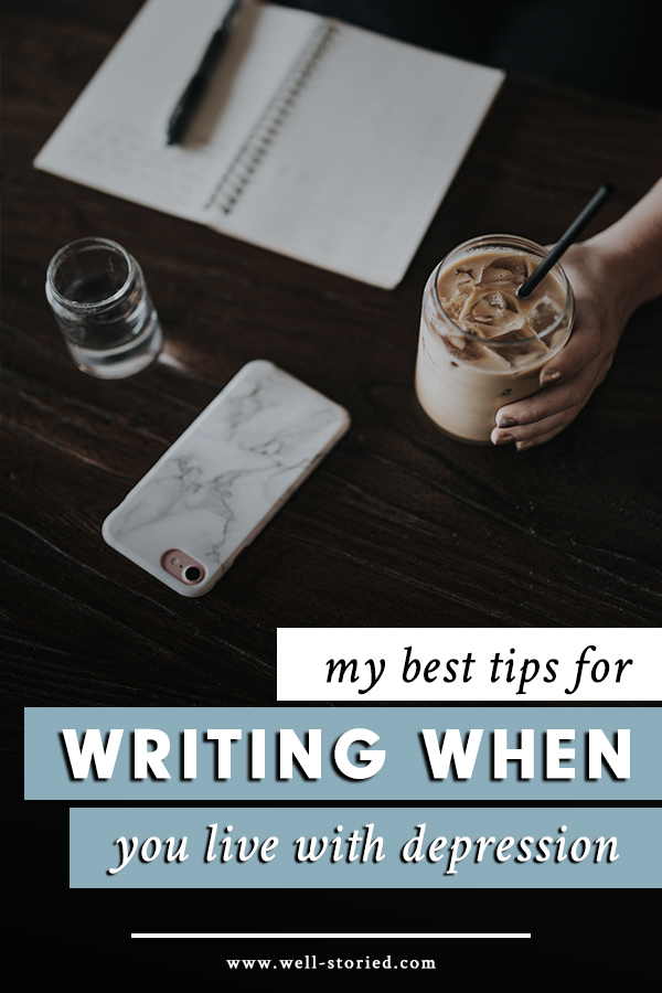 When depression wreaks frequent havoc on your mental health, how can you possibly live your best writing life. I'm sharing what I've learned from experience today on the blog.