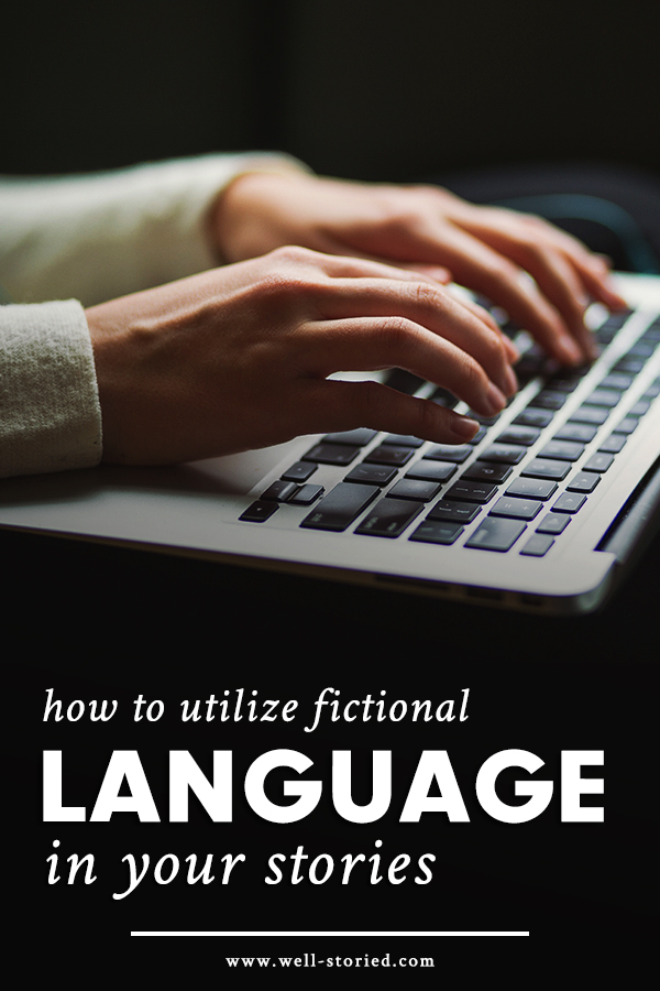 Should you include fictional language in your stories? And if you do choose to do so, how can you create your conlang with purpose and care? Let's discuss!