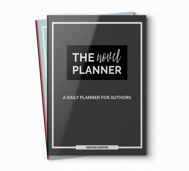 The Novel Planner, a daily planner for authors