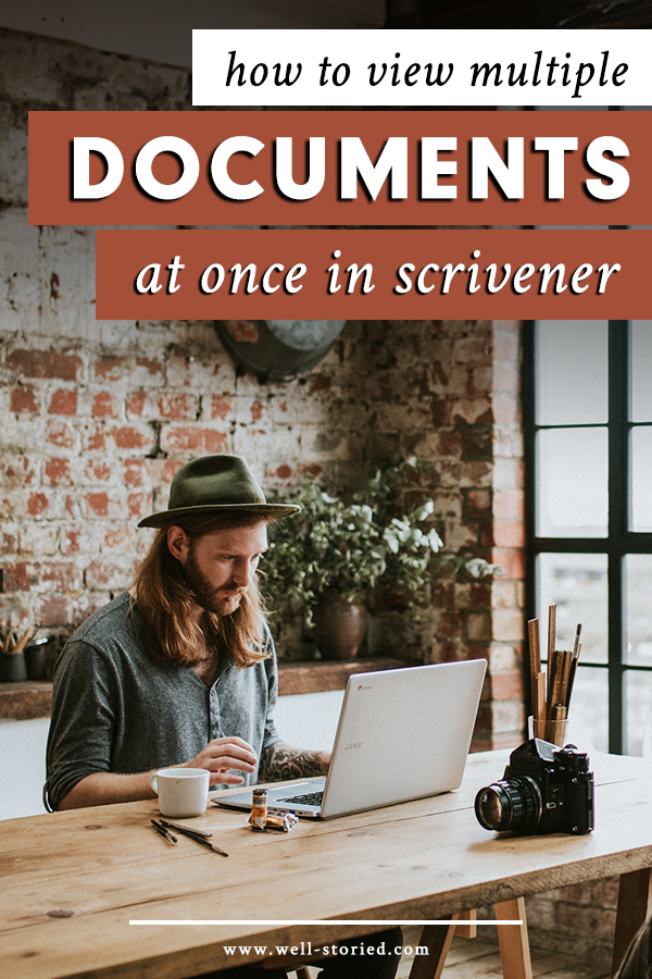 Wish you could view multiple documents at once — perhaps your chapter and its notes or two different versions of the same scene? With Scrivener, you can! And today, I'm showing you how...