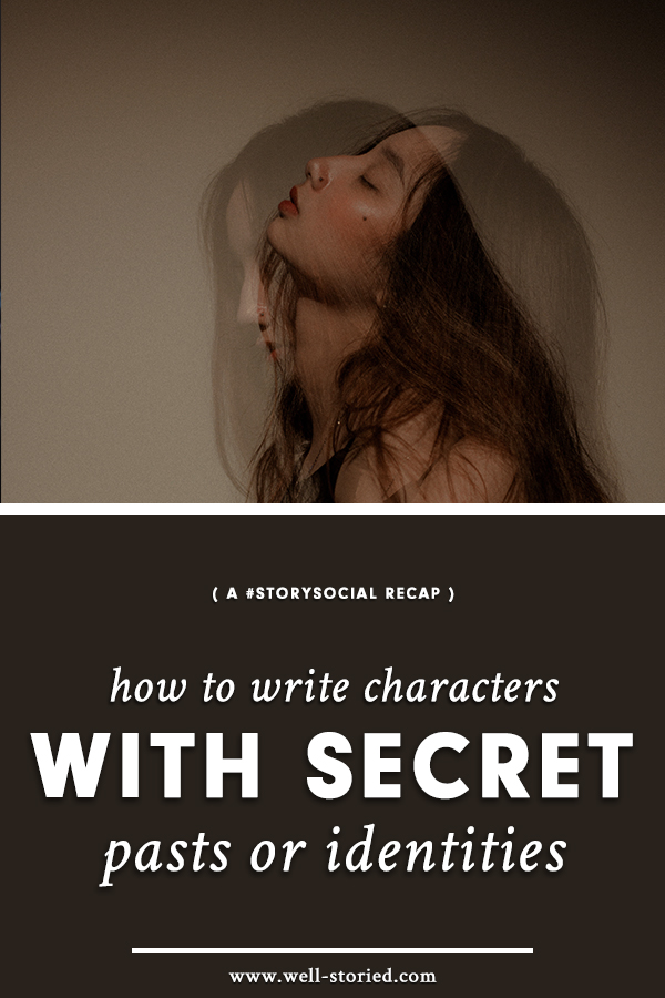 How can you successfully write characters who aren't quite what they seem? Check out the tips & tricks in this week's #StorySocial chat recap!