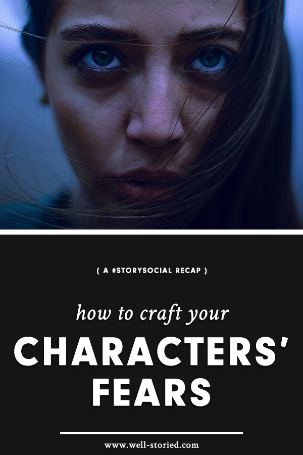 How can your craft believable fears that lend to your characters' arcs? Check out this week's #StorySocial recap for advice from writers around the world!