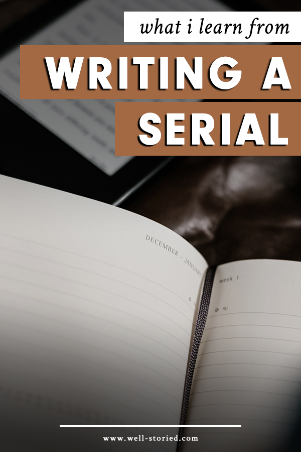 What I Learned From Writing a Serial with Mariella Hunt, author of The Autumn Prince.