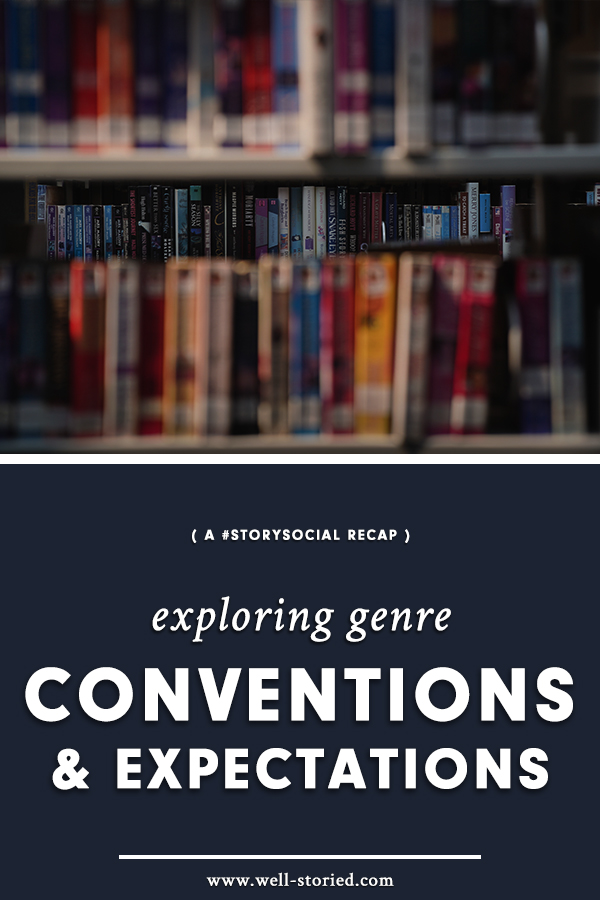 What exactly are genre conventions? When is it best to stick to them or to break away? Writers from around the world weighed in during this week's #StorySocial chat, Catch the recap today!