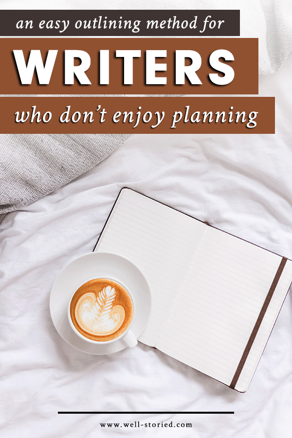 You don't have to be a plotter at heart to benefit from the clarity and focus an outline can provide. In today's article, guest writer Rayanne Robison shares how learning to adopt this easy outlining method helped her overcome some of her biggest writing woes!