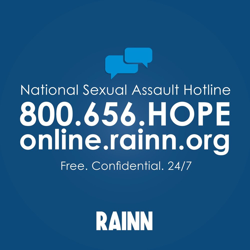 RAINN Hope Line Logo
