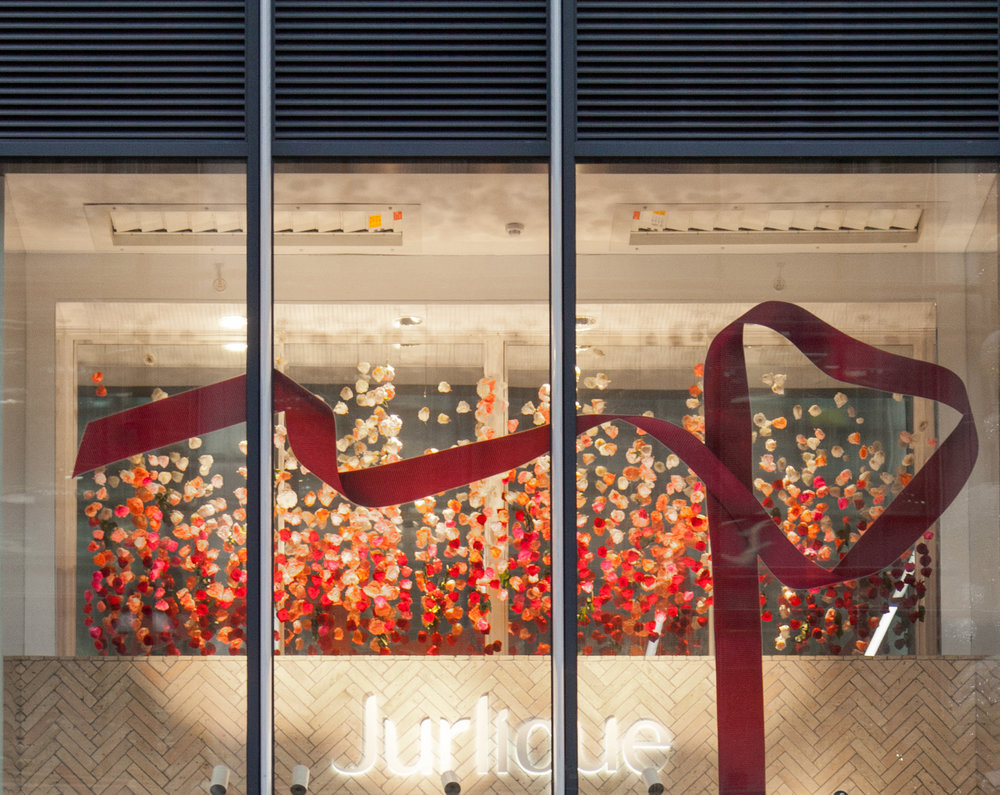 Jurlique Christmas Window