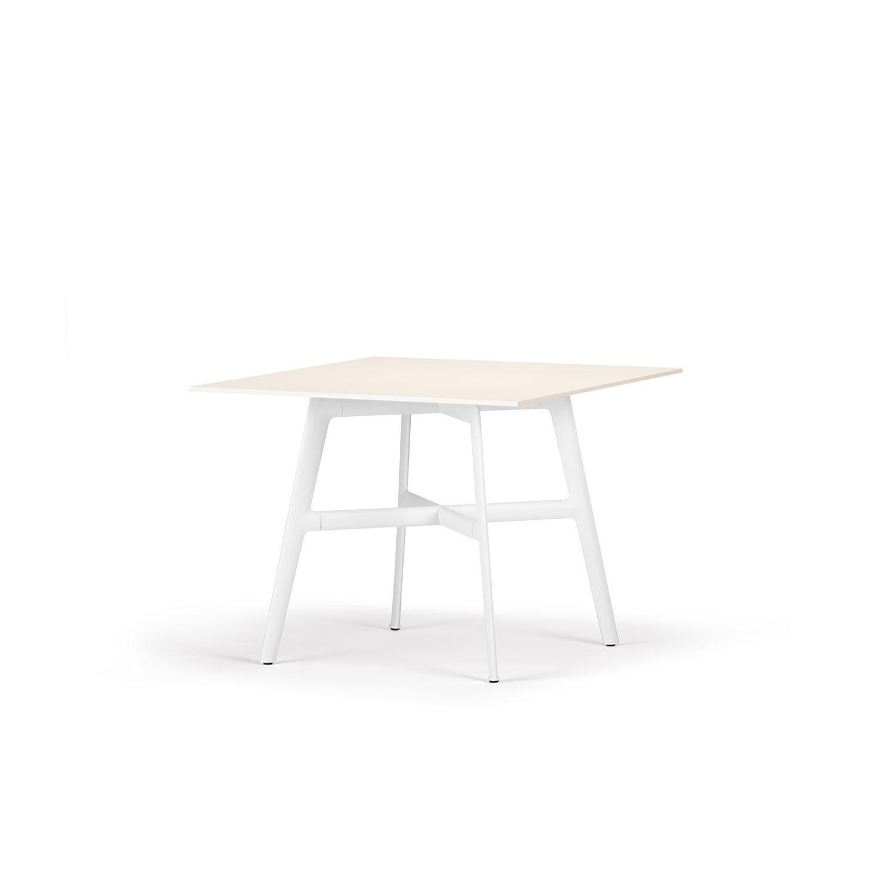 Attraktiv Esstisch 100x100 Referenz Von Dedon Seax - Weiss/weiss — Cmg Schweiz