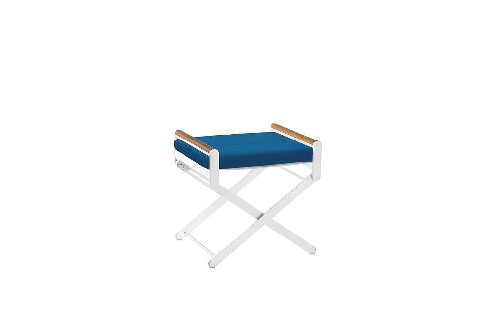 OTTOMAN / SIDE TABLE