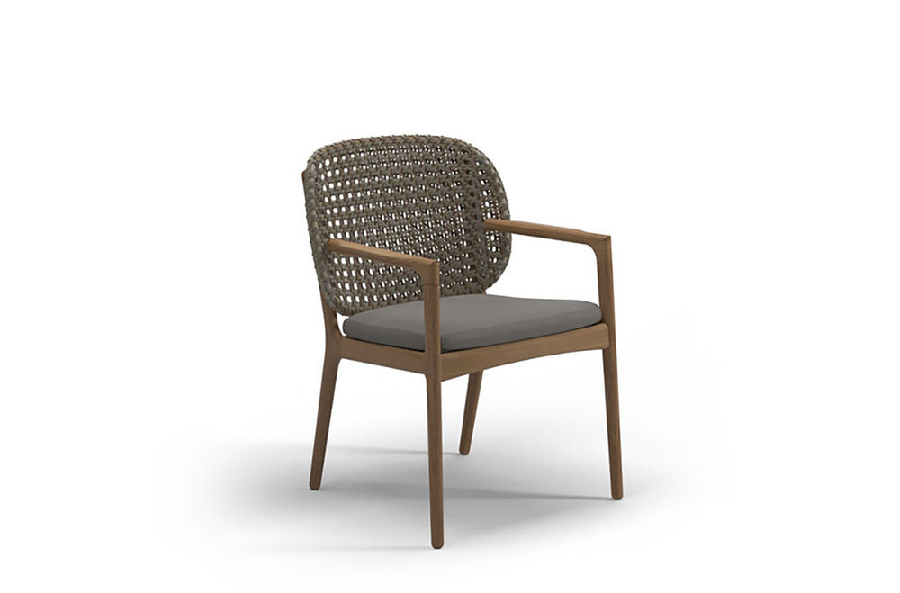 Gloster KAY Dining Chair With Arms
