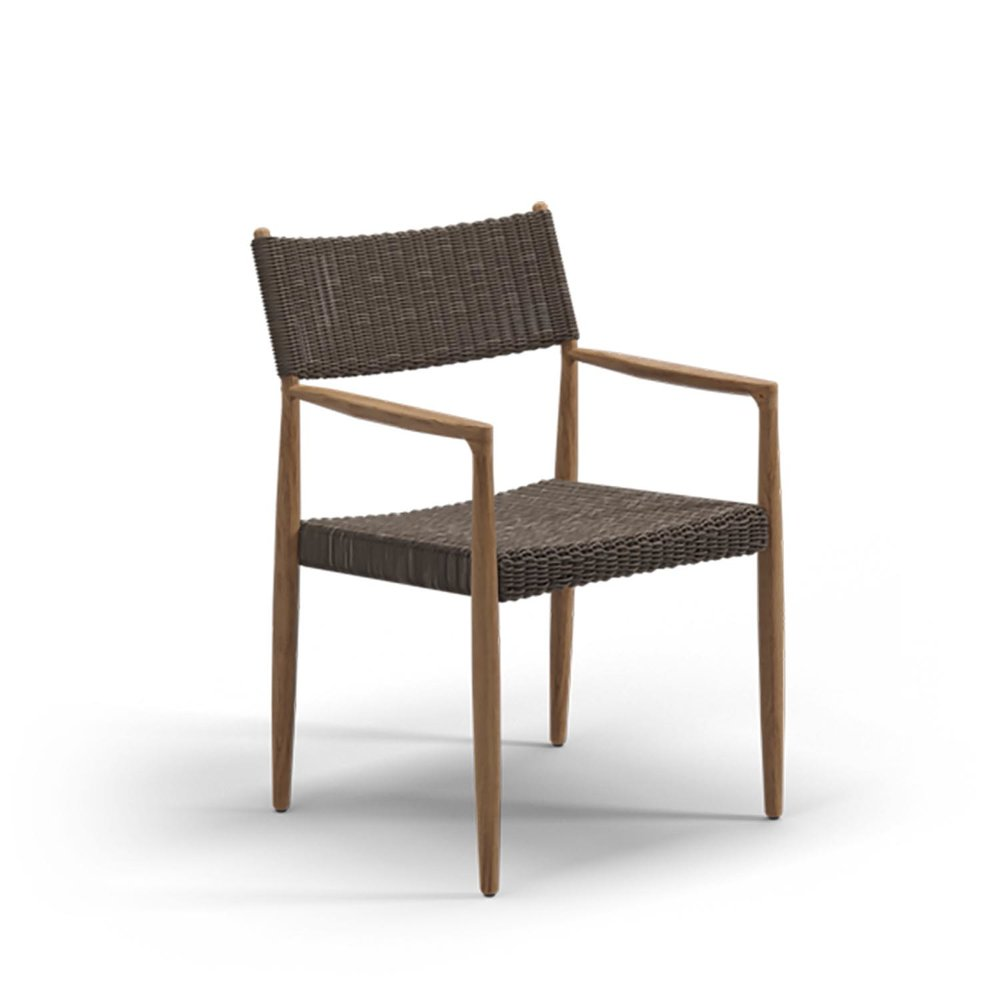 Gloster TUNDRA Dining Chair With Arms