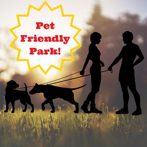 We are a Pet Friendly Park!