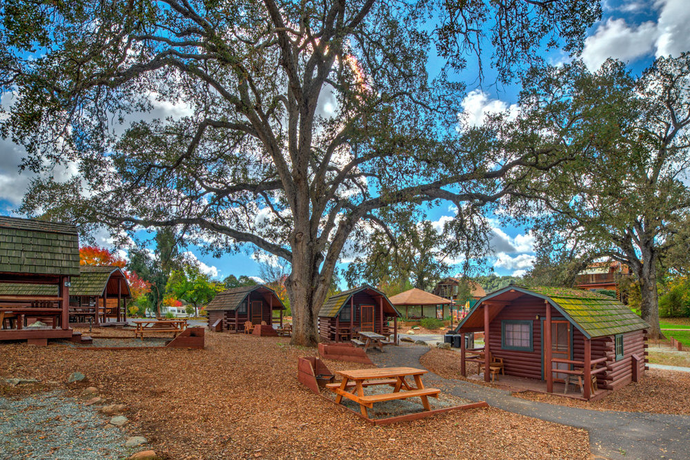 Angels Camp Cabins