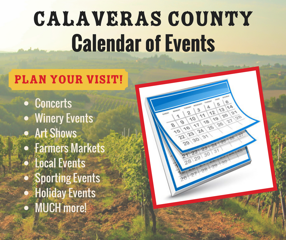 Calaveras County Calendar of Events Link