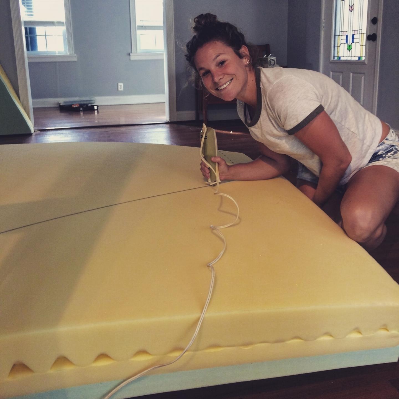 v berth mattress sailing on tuesday