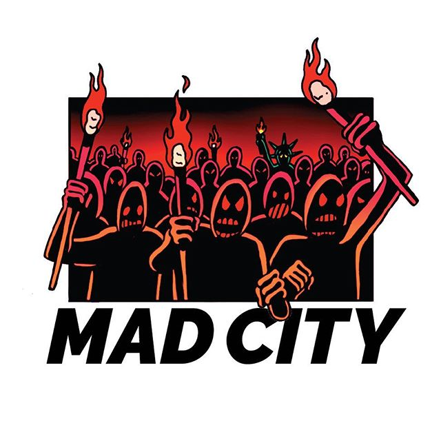 "New ""Mad City"" Graphic! #riot #2017 #graphic #illustration #mad"