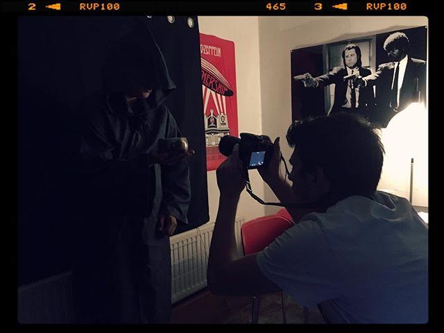 Last shots... 🎬 . . . . . #videoclip #folk #rockband #comingsoon  #pulpfiction #ledzepplin