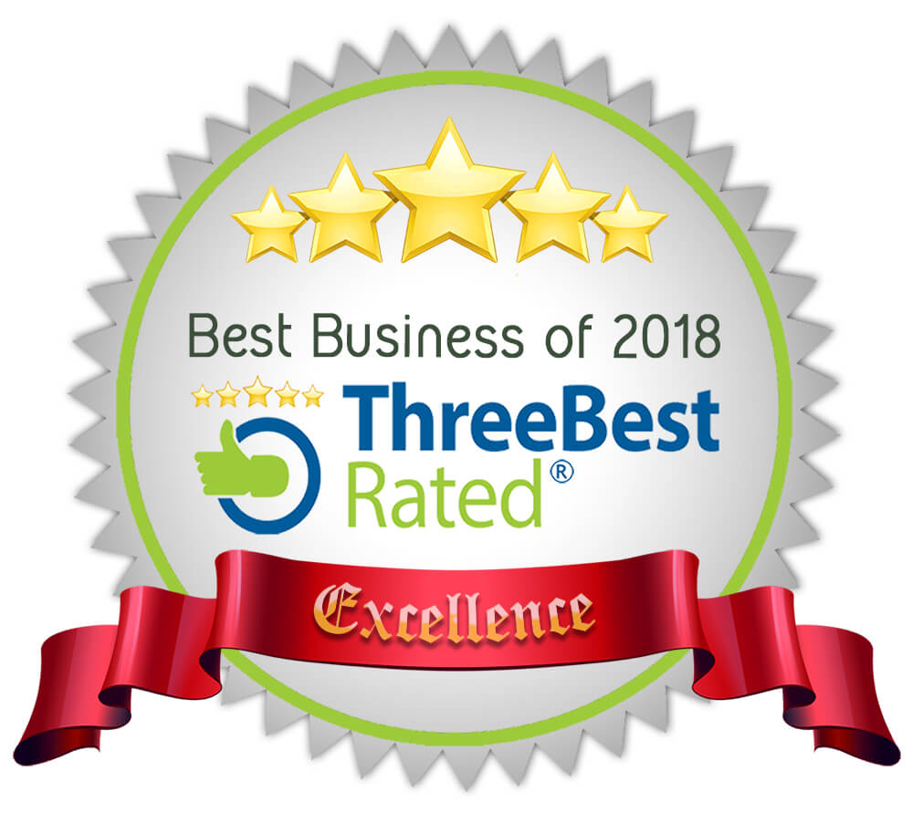RATED BEST BUSINESS, 2017 AND 2018