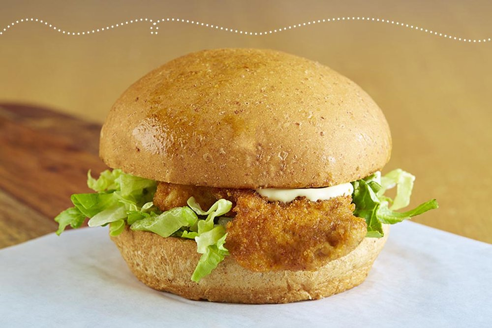 Breaded & Baked Chicken Sandwich
