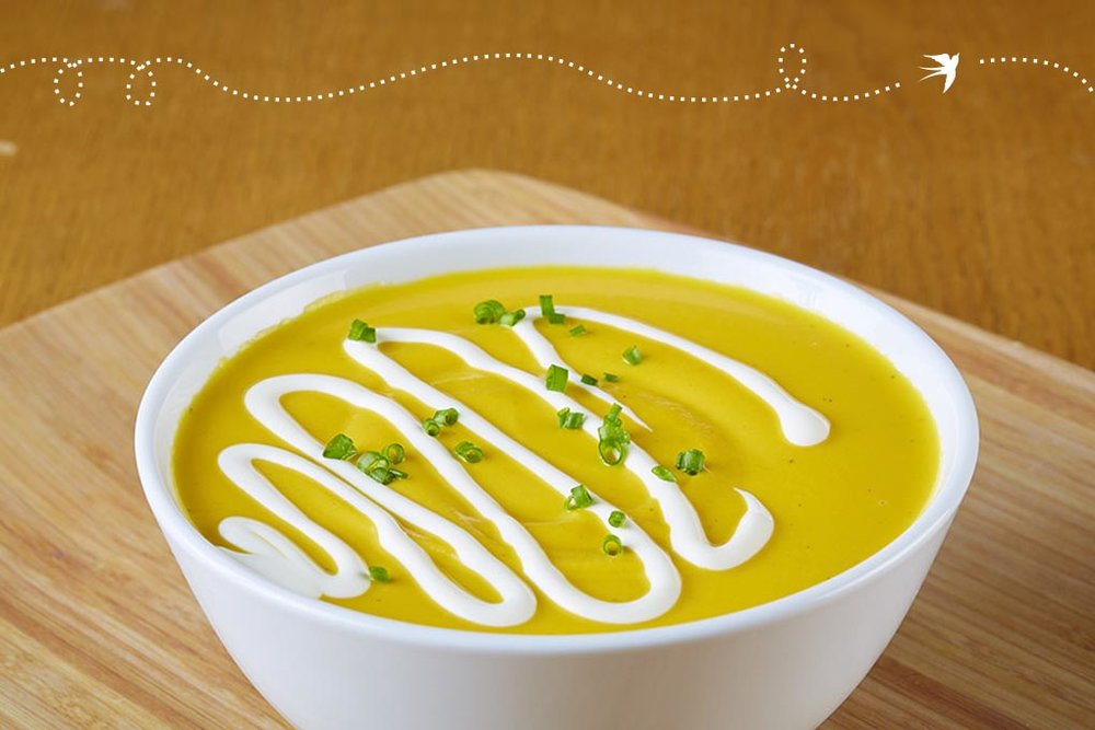 Vegetarian Butternut Squash Bisque