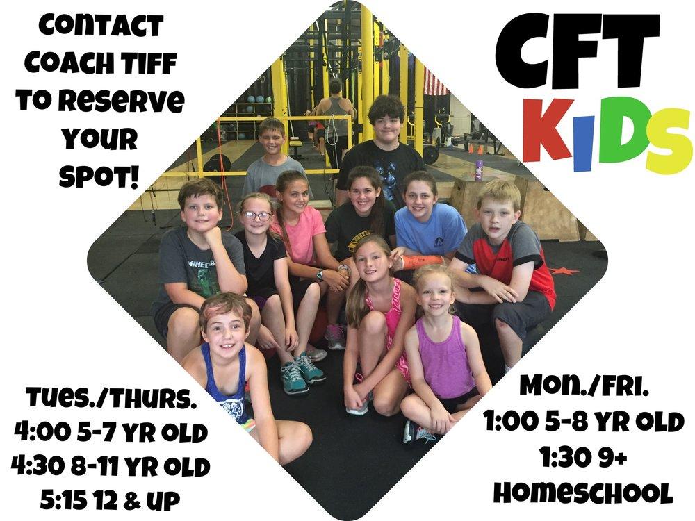 CrossFit Kids/Homeschool