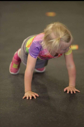 What's Cuter Than Baby Push Ups :-)