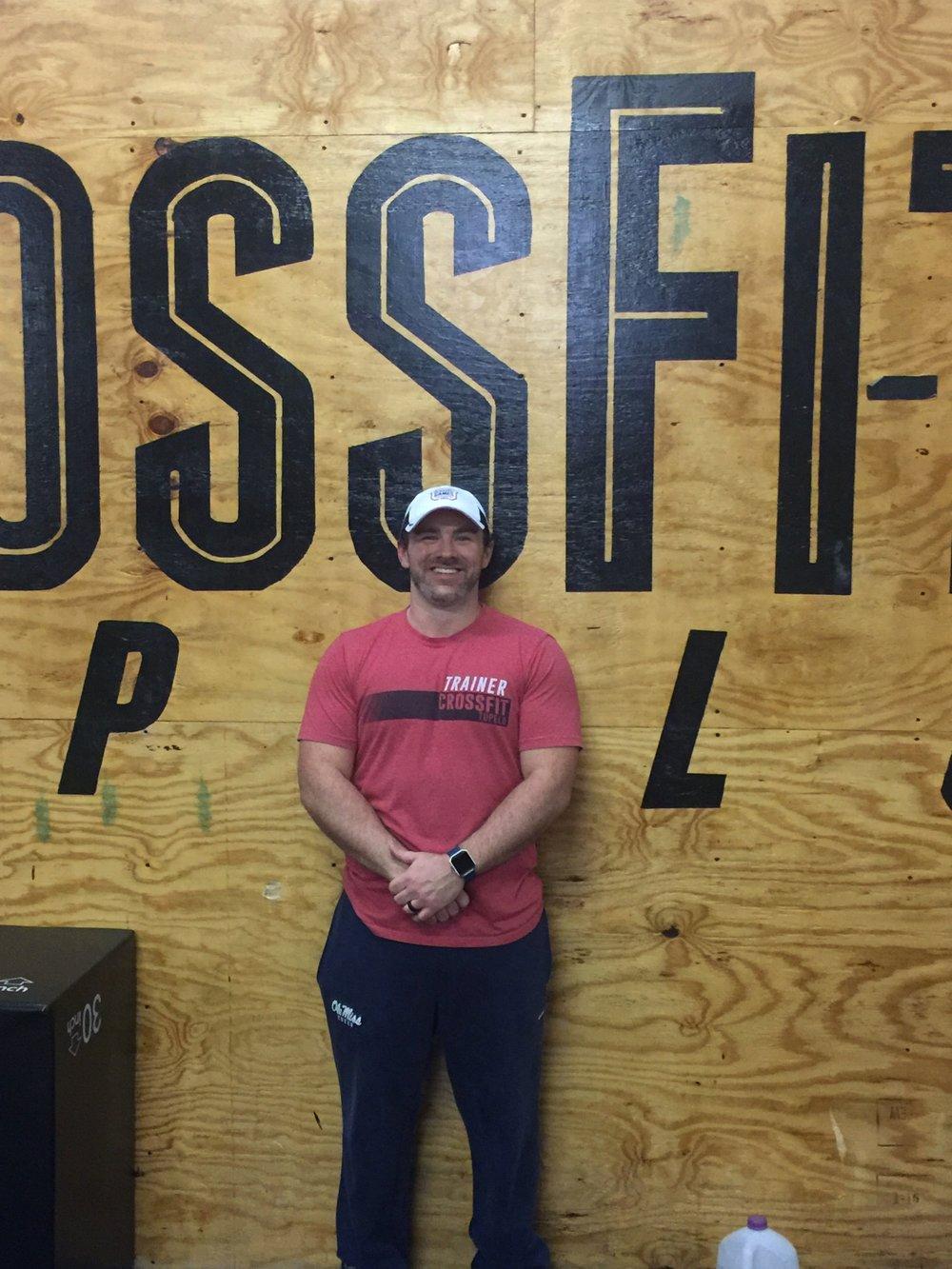 Drew McDonald    CrossFit L-1