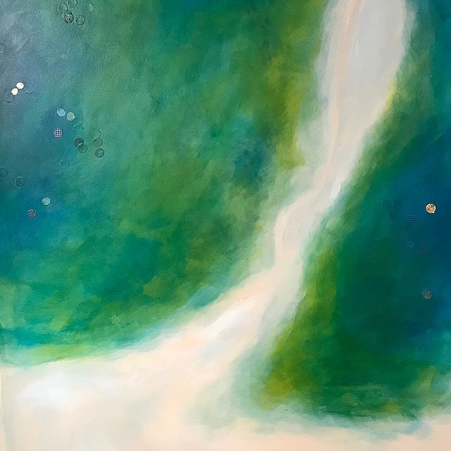 Newest piece  #Fineart #paintingart #paintingartist #printmaking #scienceart #astronomy #inspired