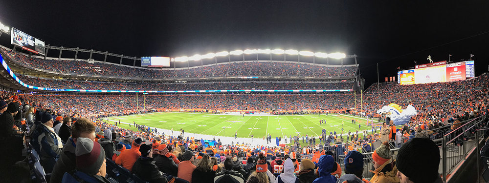 Broncos v. Chiefs Football Game