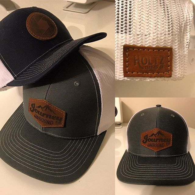 Trying out some new hats from @holtzleatherco