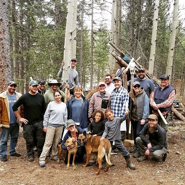 We our passed two-day mountain survival school! Feeling a lot more confident in our wilderness and survival skills. We highly recommend @cmmsurvival !