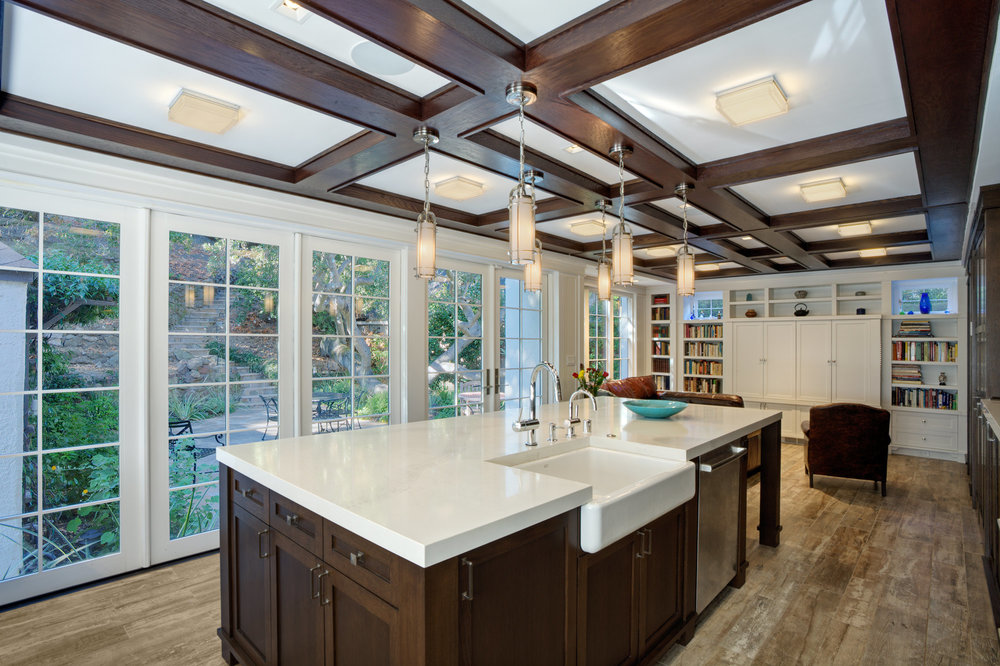 Modern Tudor style kitchen
