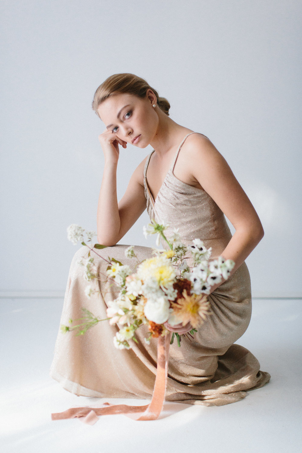 Styling/Florals: Ashley Fox Designs  Photo: Lauren Kirkbride  Model: Hannah Lee Duggan
