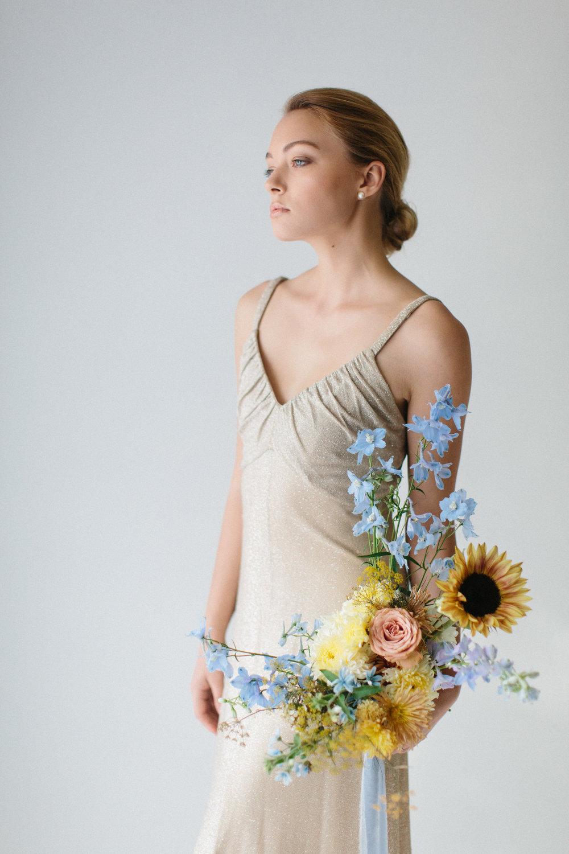 Styling/Florals: Ashley Fox Designs  Photo: Lauren Kirkbride  Model: Hannah Lee Duggan