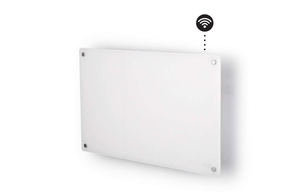 Mill AV600 wifi heater side view
