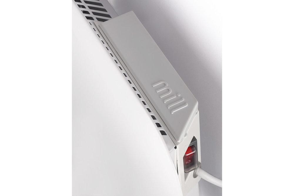 Mill IB300 steel heater controls