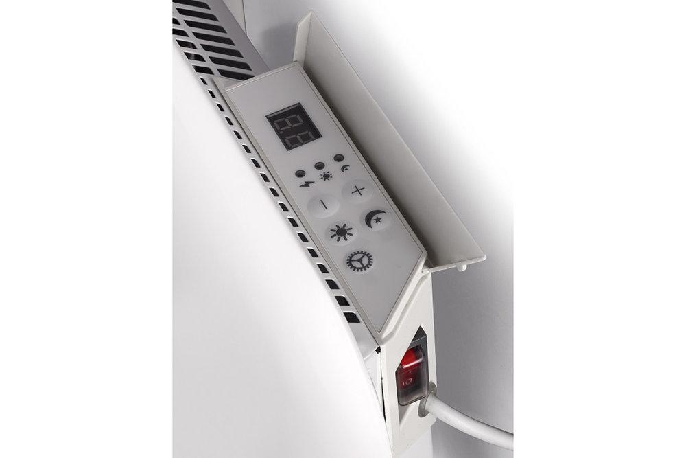 Mill IB900 steel heater controls