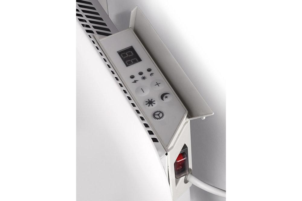 Mill IB1000 steel heater controls