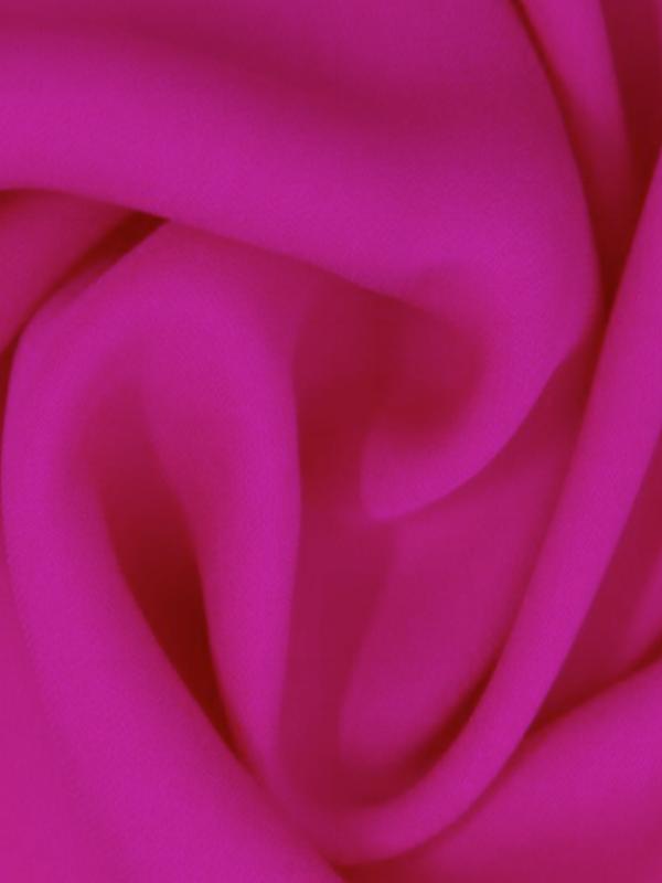 Supple Premium Fabrics - Fuchsia Double Silk Georgette