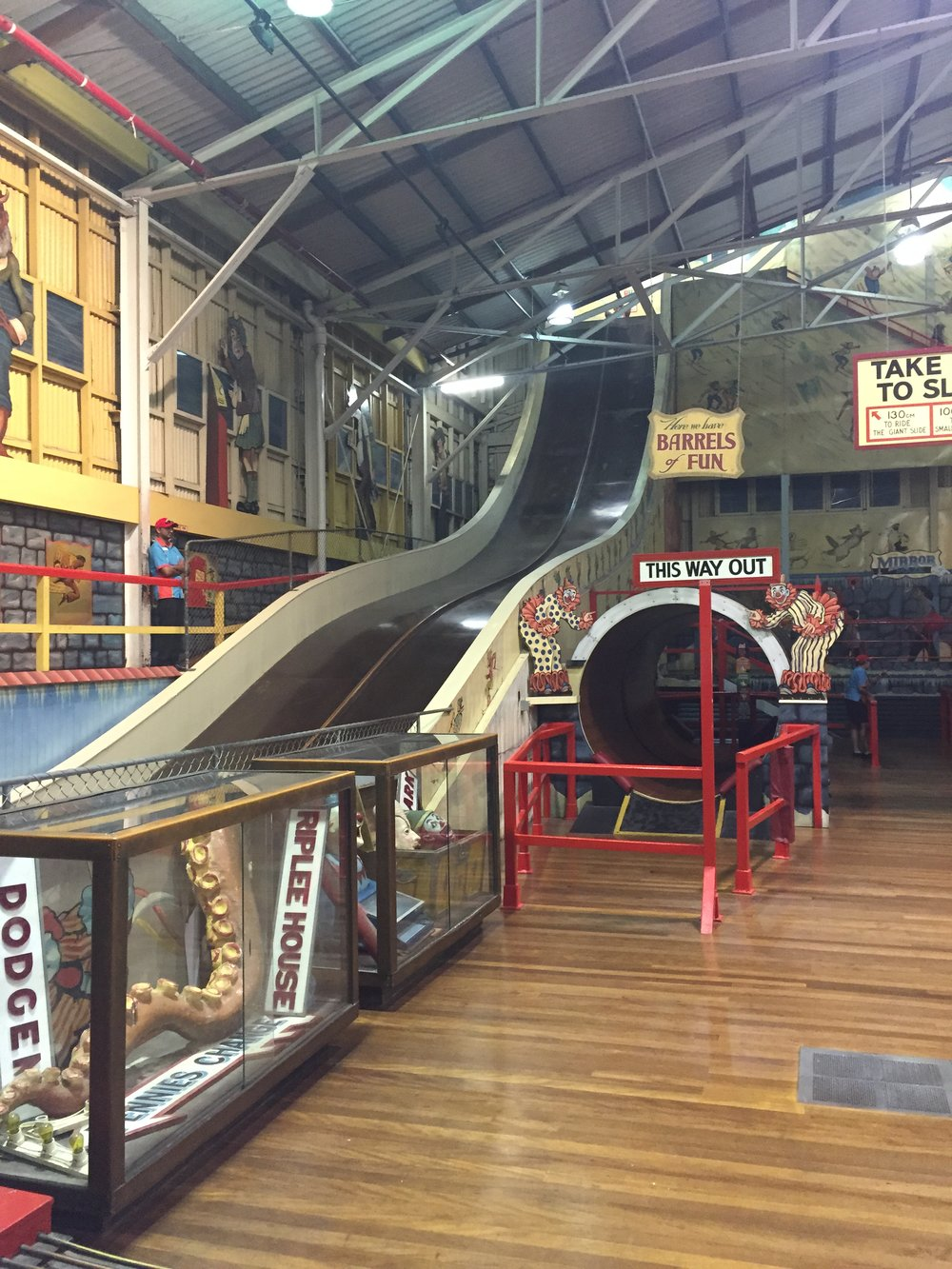 Slides of Luna Park - Wandering Jokas Travel Blog