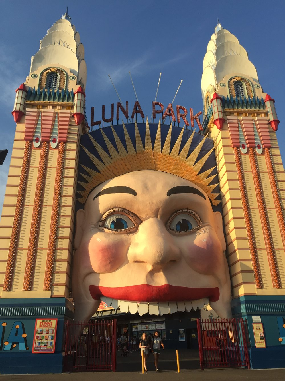 Luna Park Entrance - Wandering Jokas Travel Blog