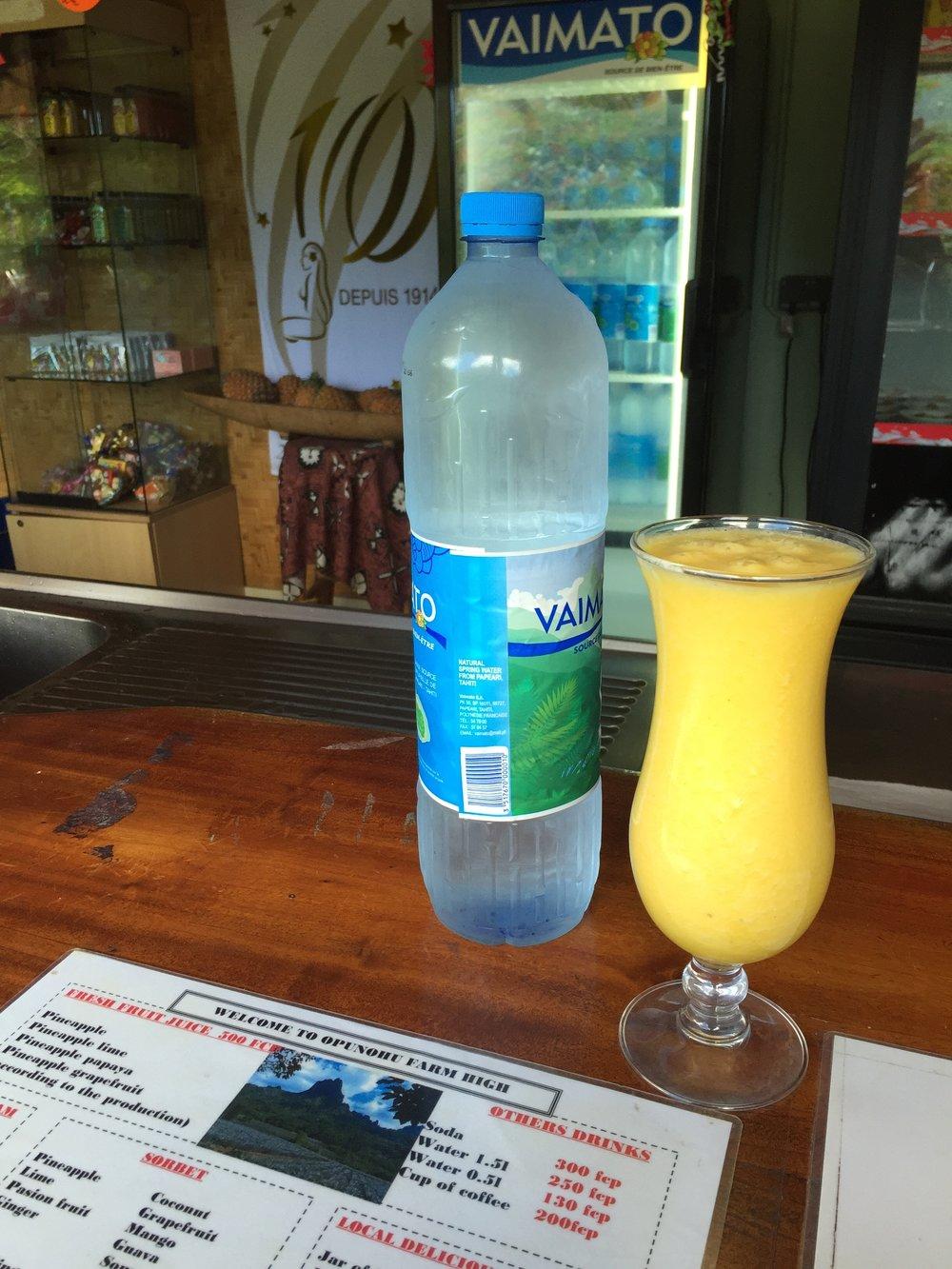 Fresh Fruit juice - Wandering Jokas Travel Blog