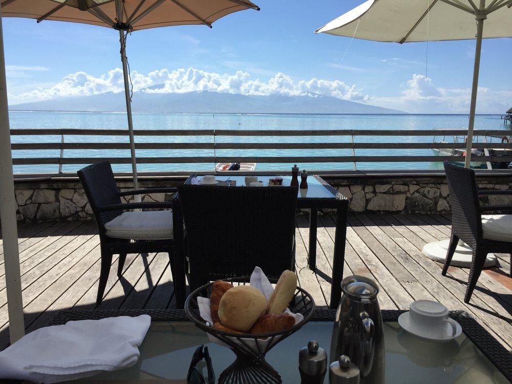 Breakfast at the Sofitel Moorea - Wandering Jokas Travel Blog