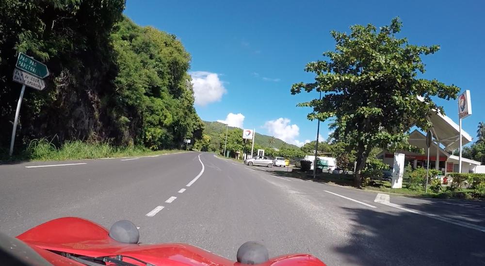 Gas Station in Moorea - Wandering Jokas Travel Blog