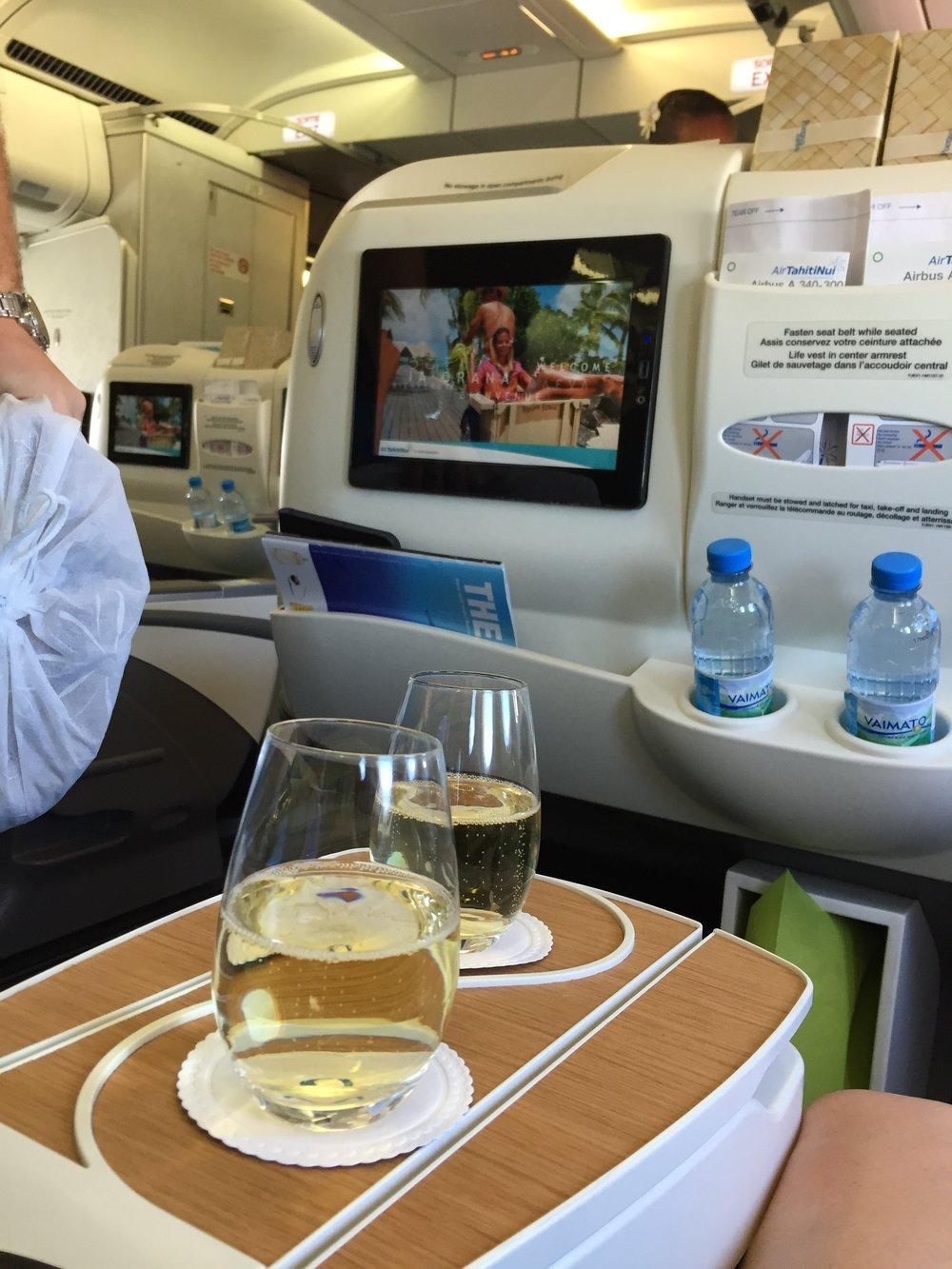 Air Tahiti Flight - Wandering Jokas Travel Blog