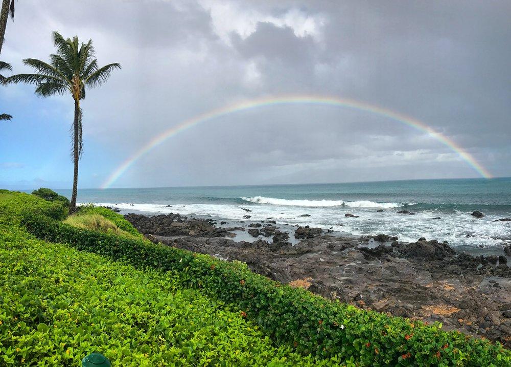 Rainbows in Maui - Wandering Jokas Travel Blog