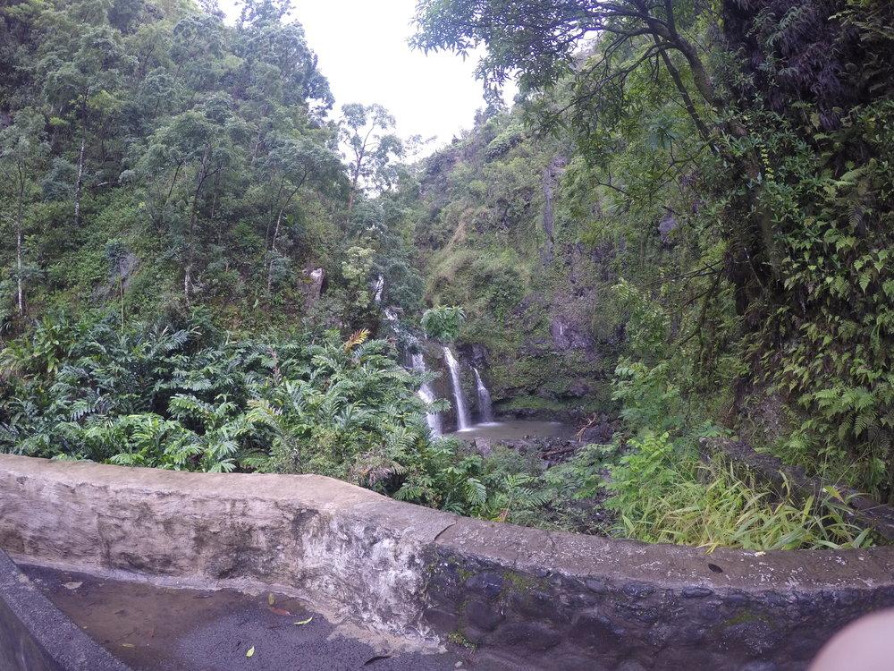 Upper Waikani Falls - 3 Bear Falls